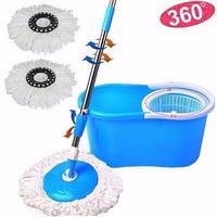 Набір для прибирання відро і швабра з віджиманням Spin mop