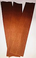 Бумага Жатая,Гофрированная Светло коричневая 2М\0.5М