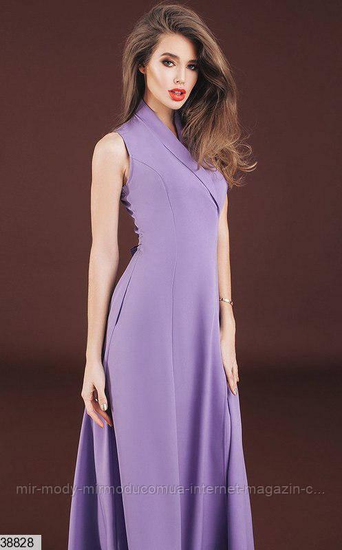 Платье 38828 лаванда с 42 по 46 размер (кт)