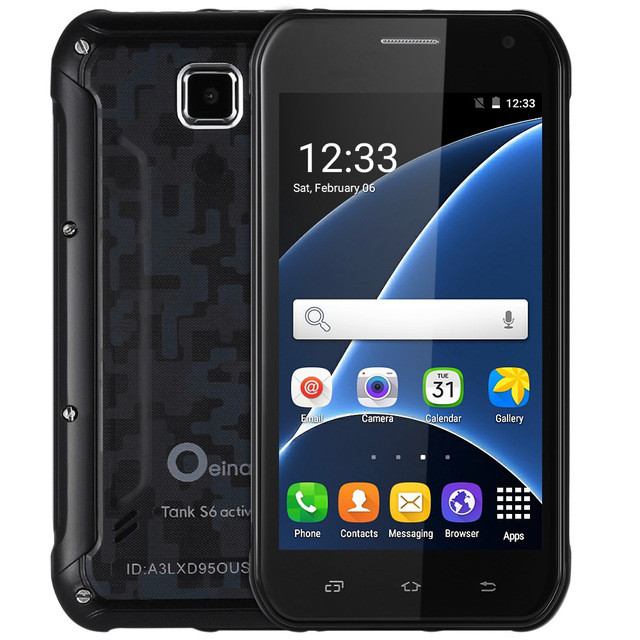 Discovery Oeina Tank S6 512 МБ+8 ГБ 5.0 дюймов с 3G Android 5.1