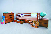 Кровать детская Марио с ящиками 140*70 бук Олимп