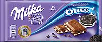 """Шоколадка """"Milka Oreo"""", """"Milka"""" в асортименті"""