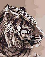 KHO2496 Рисование по цифрам Амурский тигр Идейка
