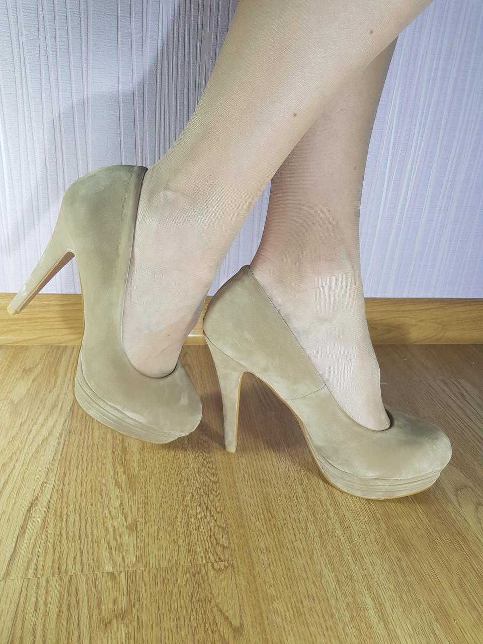 Туфлі на підборах Lilir Beige 883