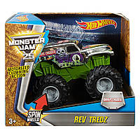 Машинка инерционная Хот Вилс Монстер Джем Hot Wheels Monster Rev Tredz Vehicle