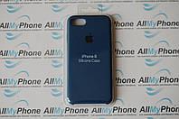 Накладка оригинальная Apple Silicone Case для iPhone 7 / 8 Blue Cobalt, фото 1