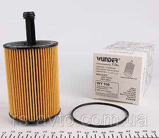 Фильтр масляный Volkswagen T5, Фольксваген T5, Caddy III 03- WY-106