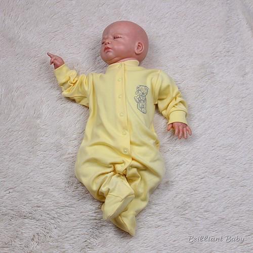 Человечек детский Teddy (желтый)