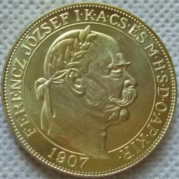 Австро - Угорщина 100 корон 1907 рік