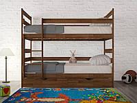 Кровать двухъярусная (разборная) Ясная 190*90 бук Олимп, фото 1