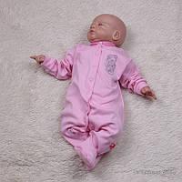 Комбинезон для девочки Teddy (розовый)