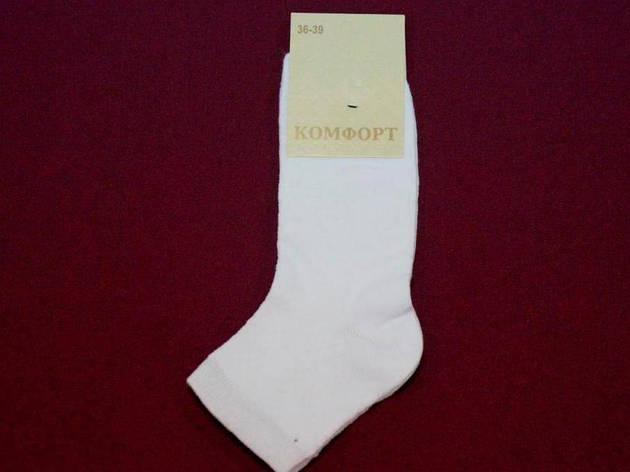 Шкарпетки Комфорт сітка патик жіночі біла 2101 36-39 ( 23-25 ) жіночі, фото 2