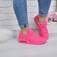 Кроссовки женские Air Max розовый неон, фото 1