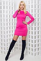 Женское трикотажное платье по фигуре (Энни mrb)