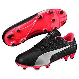 Детские футбольные бутсы Puma JR evoPOWER Vigor 4 FG 10397202