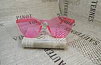 Розовые очки без оправы