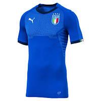 Футбольная форма Сборной Италии с коротким рукавом 2018, домашняя, фото 1