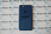 Накладка оригинальная Apple Silicone Case для iPhone 6 Plus / 6S Plus Blue Cobalt