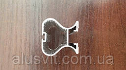 Конструктор дверей купе на одинарній рейці (профіль,кріплення), фото 3