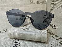 Черные очки без оправы