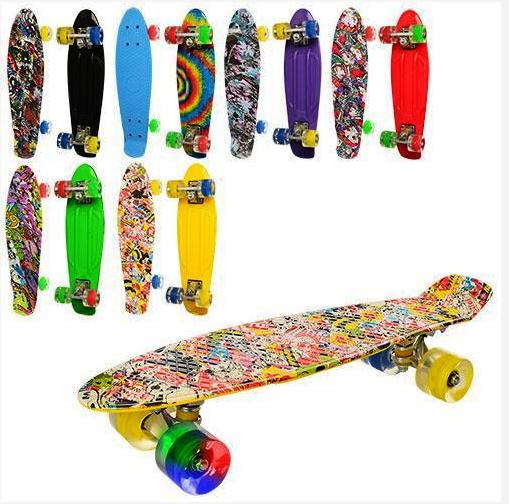 Детский скейтборд - Penny Board MS 0748-6