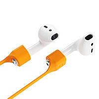 Магнитный ремешок держатель Baseus для Apple AirPods - Orange