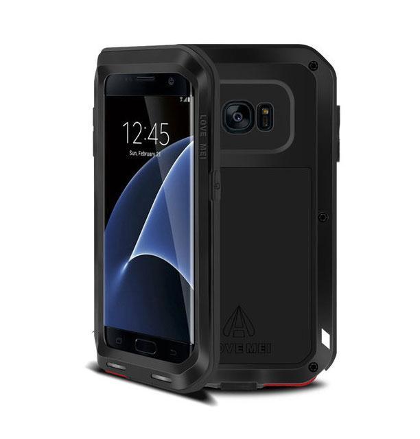 Протиударний броньований чохол Love Mei для Samsung Galaxy S7 Edge (G935F)