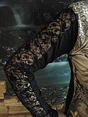 Нарядное платье с цветами, фото 3
