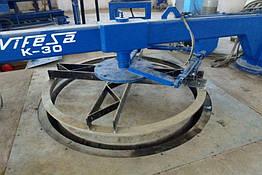 Вибропресс для производства бетонных труб и колец K-30 Tensyland