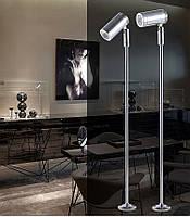 Светильник для подсветки витрин  LED TLS -2W 220V  4500К  серебро  25cm, фото 2