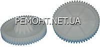 Шестерня мясорубки DEX D72,5мм/конус 20-32мм z1 56 прямо z2 12 прямо h 27мм h2 10,5мм Dвн 8мм
