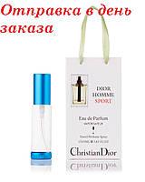 Туалетная вода для мужчин Dior Homme Sport 35 мл