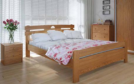 Деревянная кровать Кантри плюс 90х190 см ТМ Meblikoff, фото 2