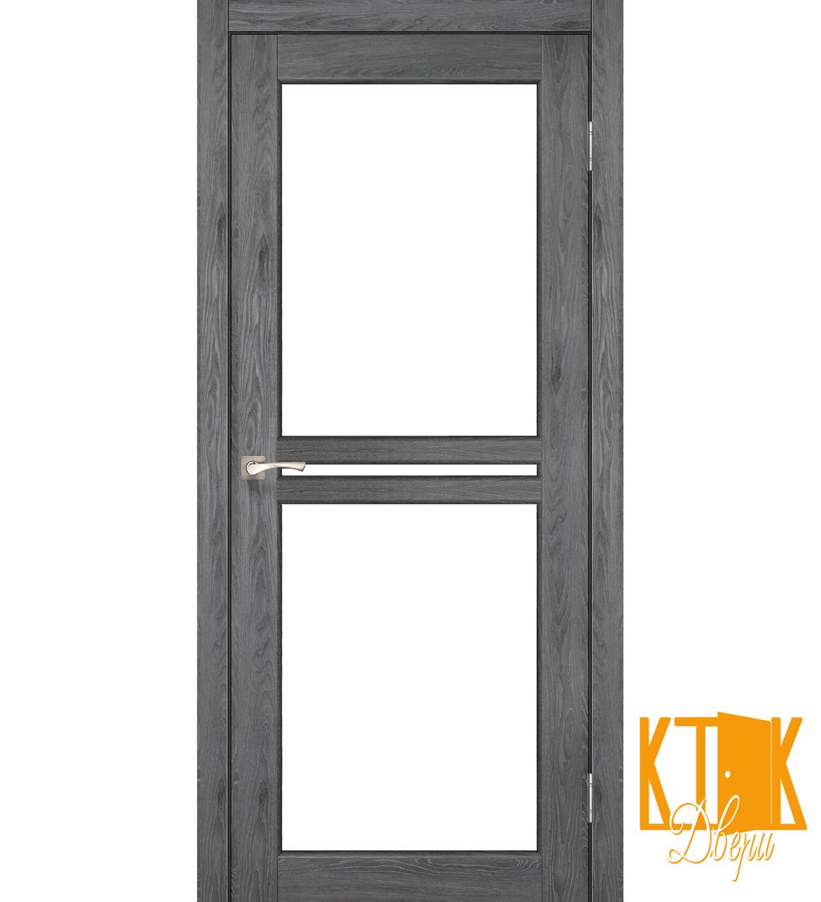 """Міжкімнатні двері колекції """"Milano"""" ML-05 (дуб марсала)"""