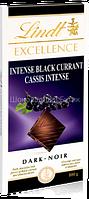 Шоколад Lindt EXCELLENCE, чёрный с Черной Смородиной, 100г.