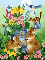 VP626 Картина раскраска Волшебный садТурбо