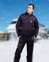 Мужской спортивный костюм на синтипоне батал 52, 54, 56р