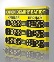 Банковское светодиодное табло 760х570 мм