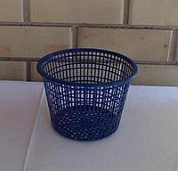 Горшок круглый, сетчатый для водных растений, диаметр 21 см