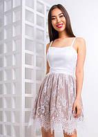 Платье с французского кружева, разные цвета