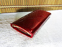 Красный кожаный кошелек Balisa Lux