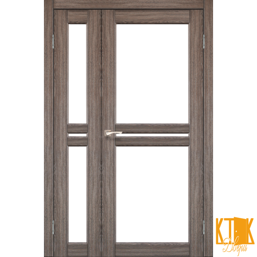 """Міжкімнатні двері колекції """"Milano"""" ML-06 (дуб грей)"""