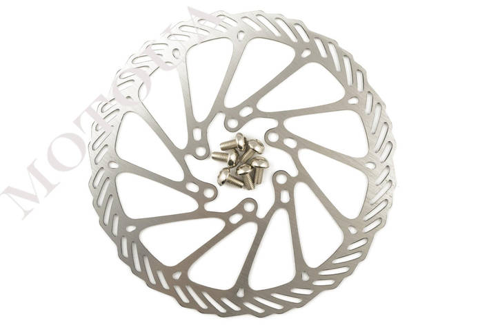 Диск тормозной велосипедный (mod:2, Ø160mm, на 6 болтов) FEIX, фото 2