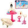 Мебель для куклы Ванная комната Gloria 1213