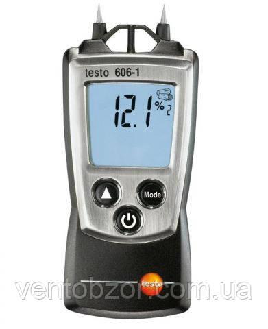Влагомер дерева и строительных материалов Testo 606-1 - Все для промышленного холода, вентиляции и кондиционирования в Харькове