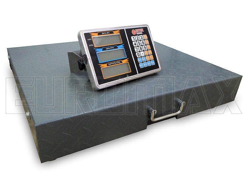 Весы электронные торговые WIFI BITEK 600кг 45х55см metal body YZ-WIFI-600KG-4555