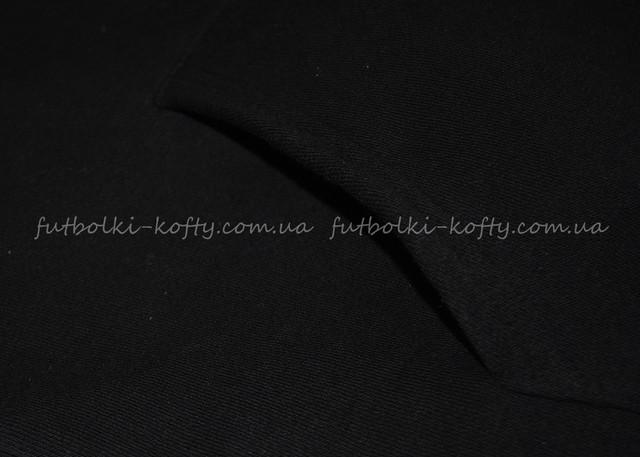 Чёрная женская премиум толстовка на замке