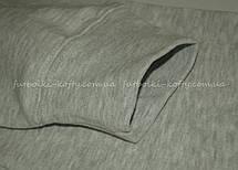 Женская премиум толстовка на замке без капюшона Серо-лиловая Fruit Of The Loom 62-116-94 L, фото 3