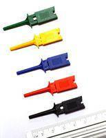 Щуп-зажим типа крючок прямоугольный, синий
