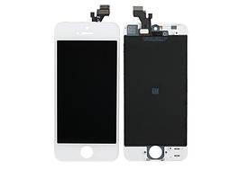 Дисплей для iPhone 5S з білим тачскріном, Висока Якість Н/З